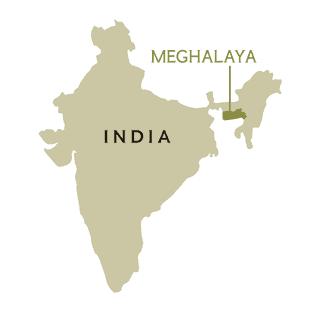 L'État de Meghalaya est connu commela « maison des nuages ».