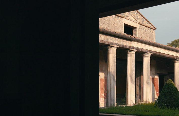 La maison de Ménandre, l'une des plus somptueuses maisons de l'antiquité romaine