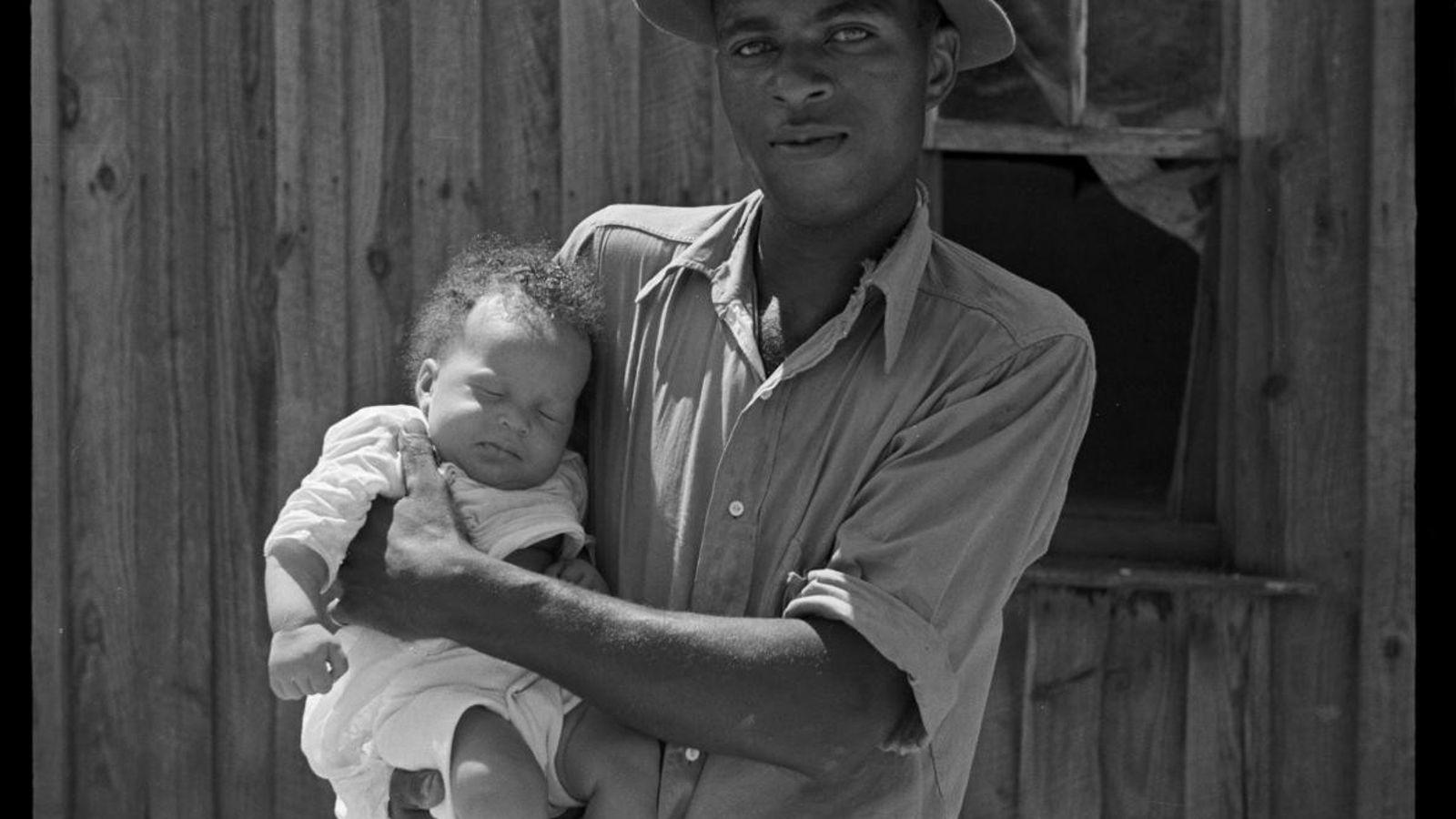 Un métayer à Lee County, dans le Mississippi. Août 1935.