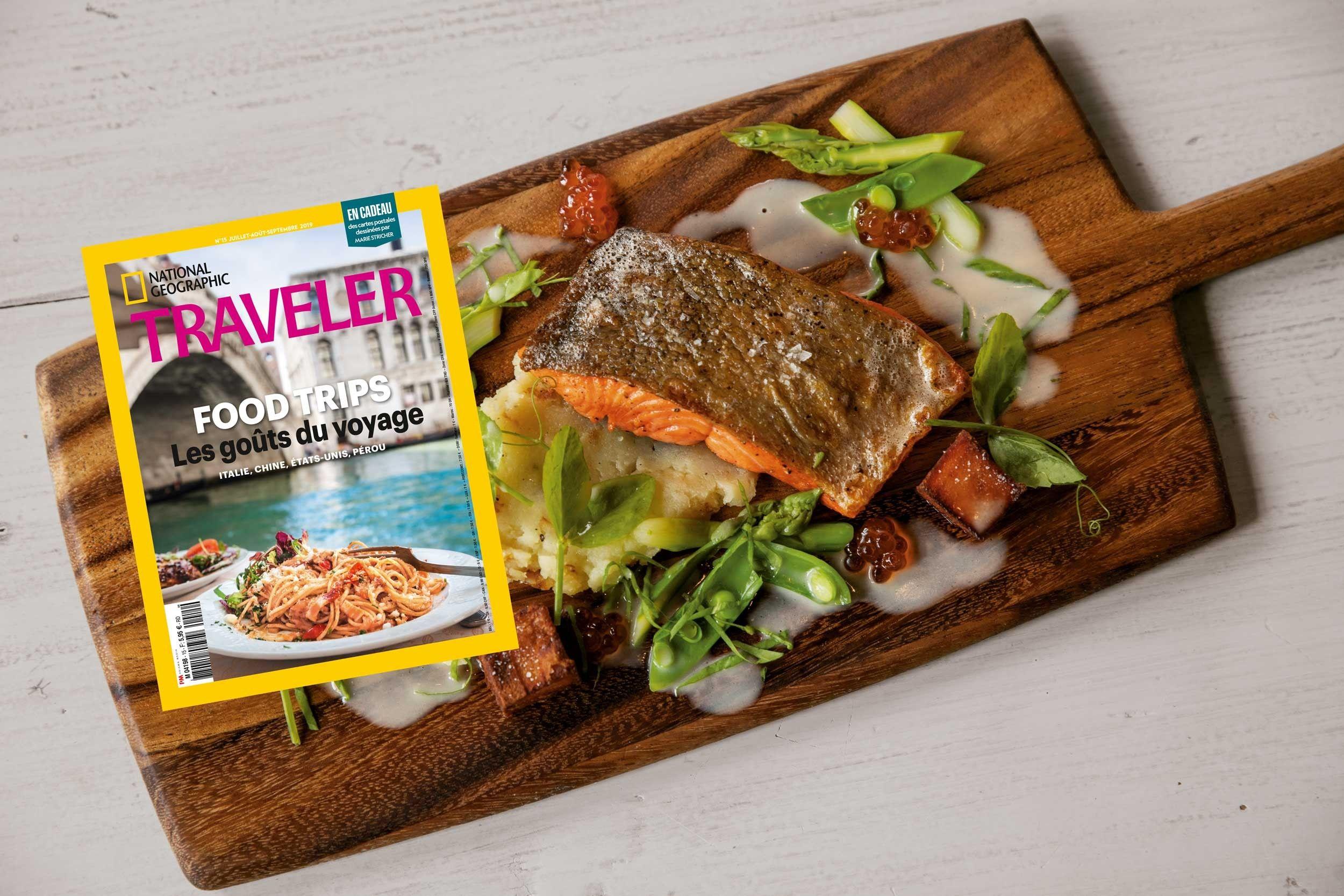 Sommaire du magazine Traveler n° 15 : Les goûts du voyage | National Geographic