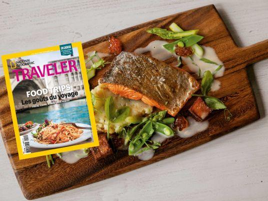Sommaire du magazine Traveler n° 15 : Les goûts du voyage