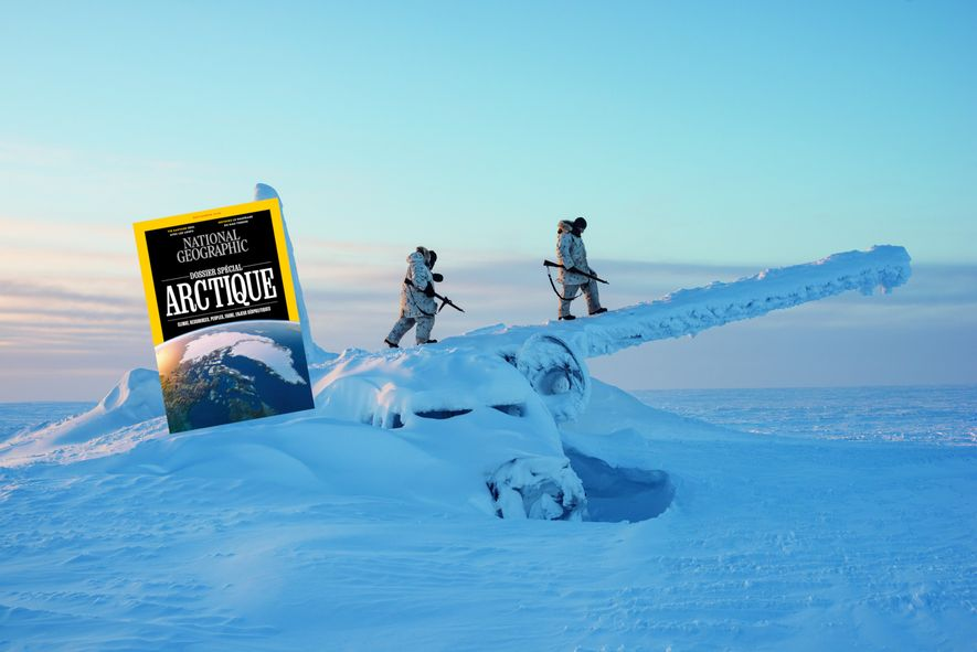 Sommaire du magazine National Geographic de septembre 2019 : l'Arctique vers une nouvelle guerre froide ?