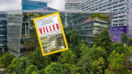 Sommaire du magazine National Geographic d'avril 2019 : Les villes du futur