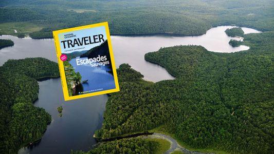 Sommaire du magazine Traveler n° 12 : Escapades sauvages