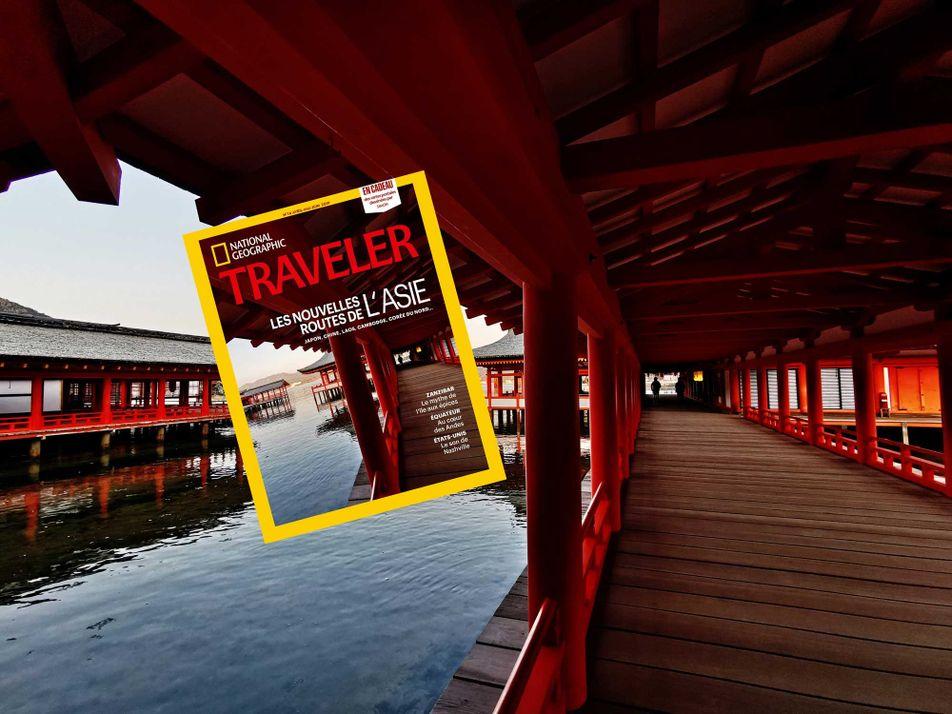 Sommaire du magazine Traveler n° 14 : Les nouvelles routes de l'Asie