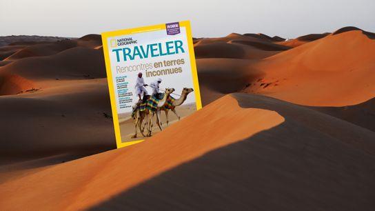 Sommaire du magazine Traveler 16 : Rencontres en terres inconnues