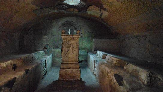 Le Mithræum de San Clemente, à Rome.
