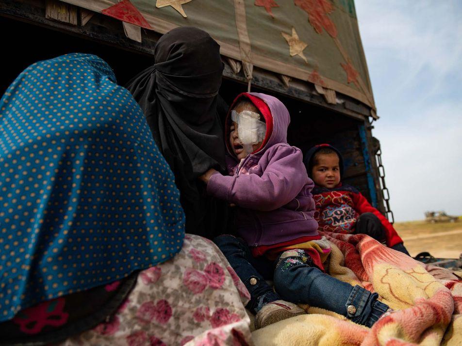 Syrie : dans le camp de réfugiés d'Al-Hol