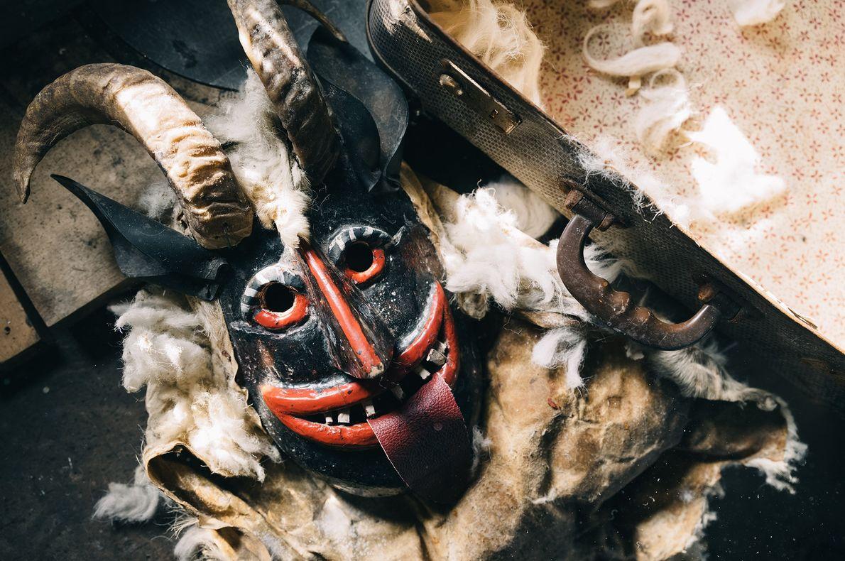 Les habitants de Drežnica pensent que ce masque de Pust est le plus ancien de la ...