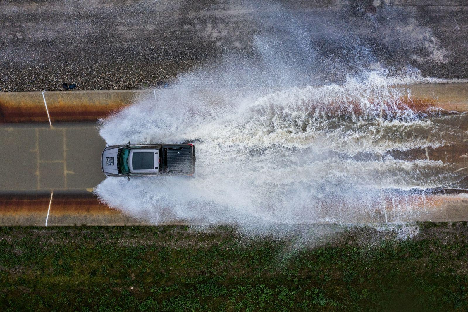 greening-cars-truck-water-crossing