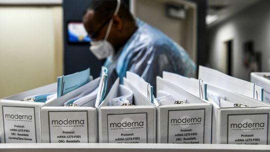Les fichiers protocoles relatifs aux essais de vaccin contre la COVID-19 de la société de biotechnologies ...