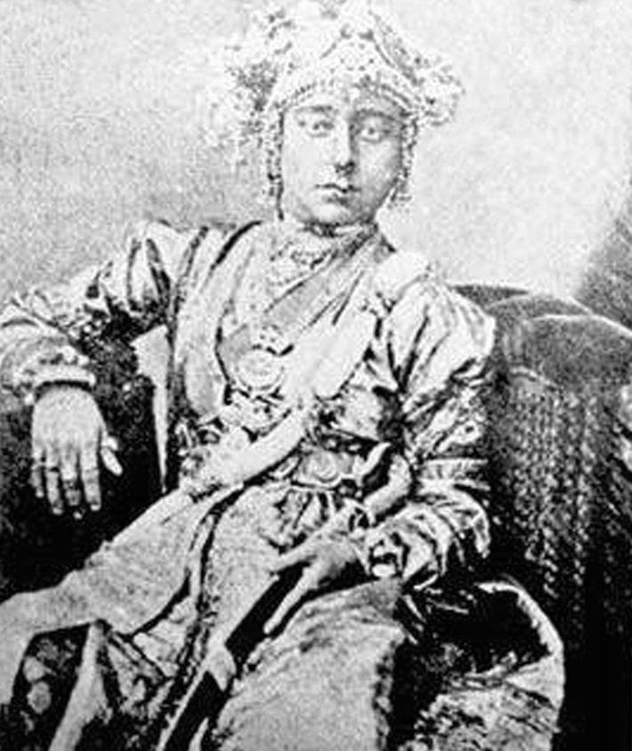 Avant que Lakshmi Bai ne devienne héroïne de la guerre d'indépendance de l'Inde en 1858, elle ...