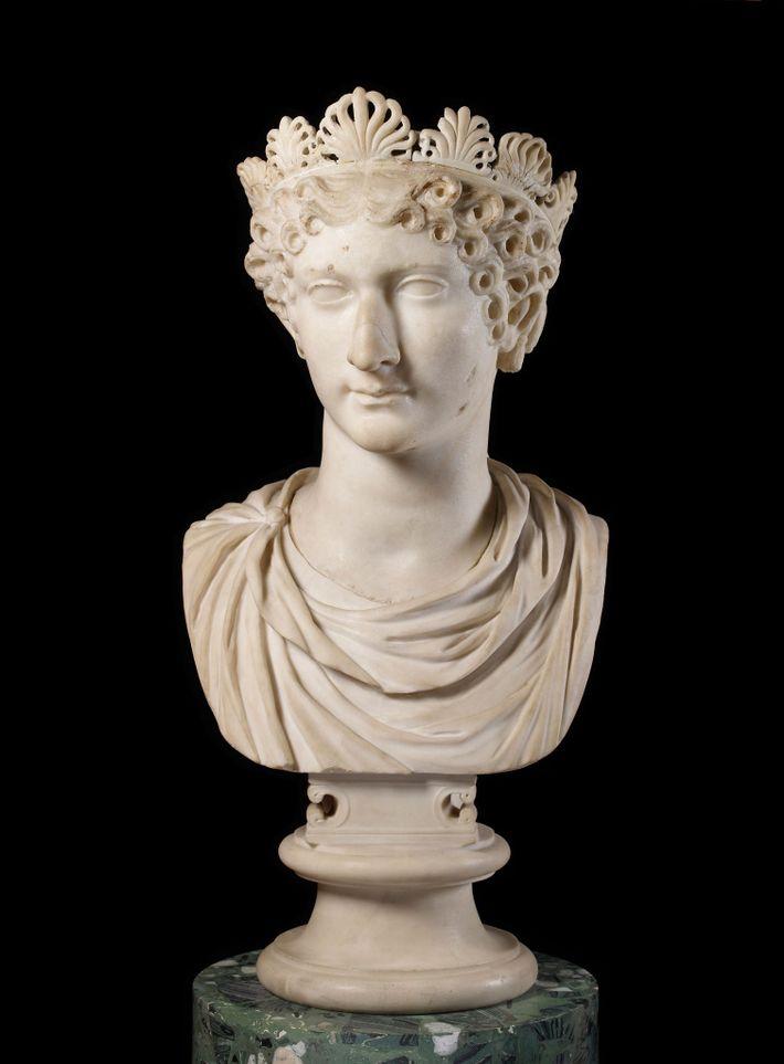 Agrippine la Jeune réussit à convaincre l'empereur Claude de nommer son fils Néron comme héritier au ...
