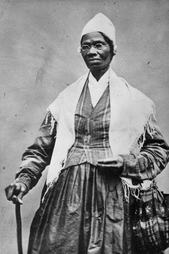 Après avoir échappé à l'esclavage en 1826 à New York, Sojourner Truth réussit à libérer son ...
