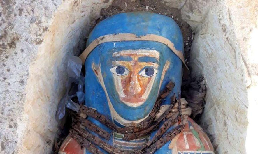 Huit momies ont été découvertes près d'une pyramide de Dahchour