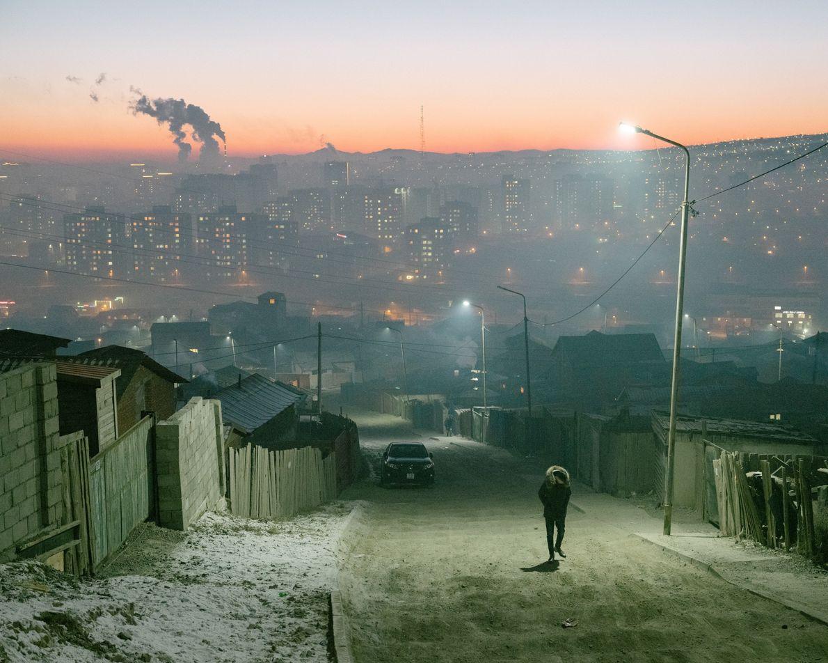 L'hiver en Mongolie