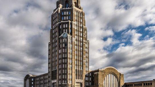 Bâtie en 1929, la gare centrale à l'architecture art déco de Buffalo simplifiait le réseau de ...
