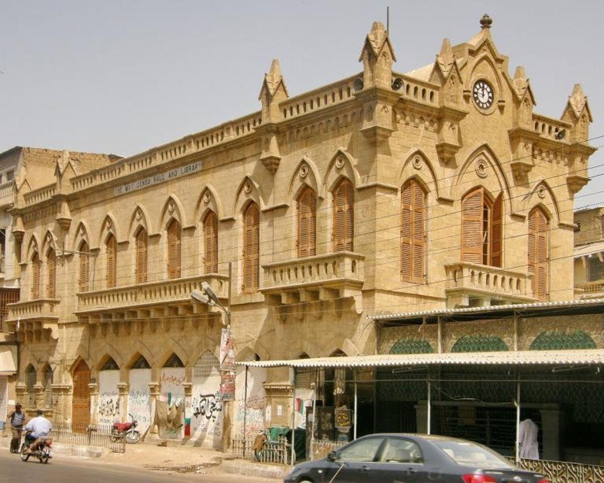 Depuis la séparation de l'Inde britannique en 1947, Karachi, plus grande ville du Pakistan, a vu ...