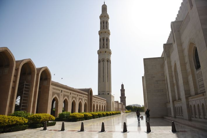La grande mosquée du sultan Qabous.