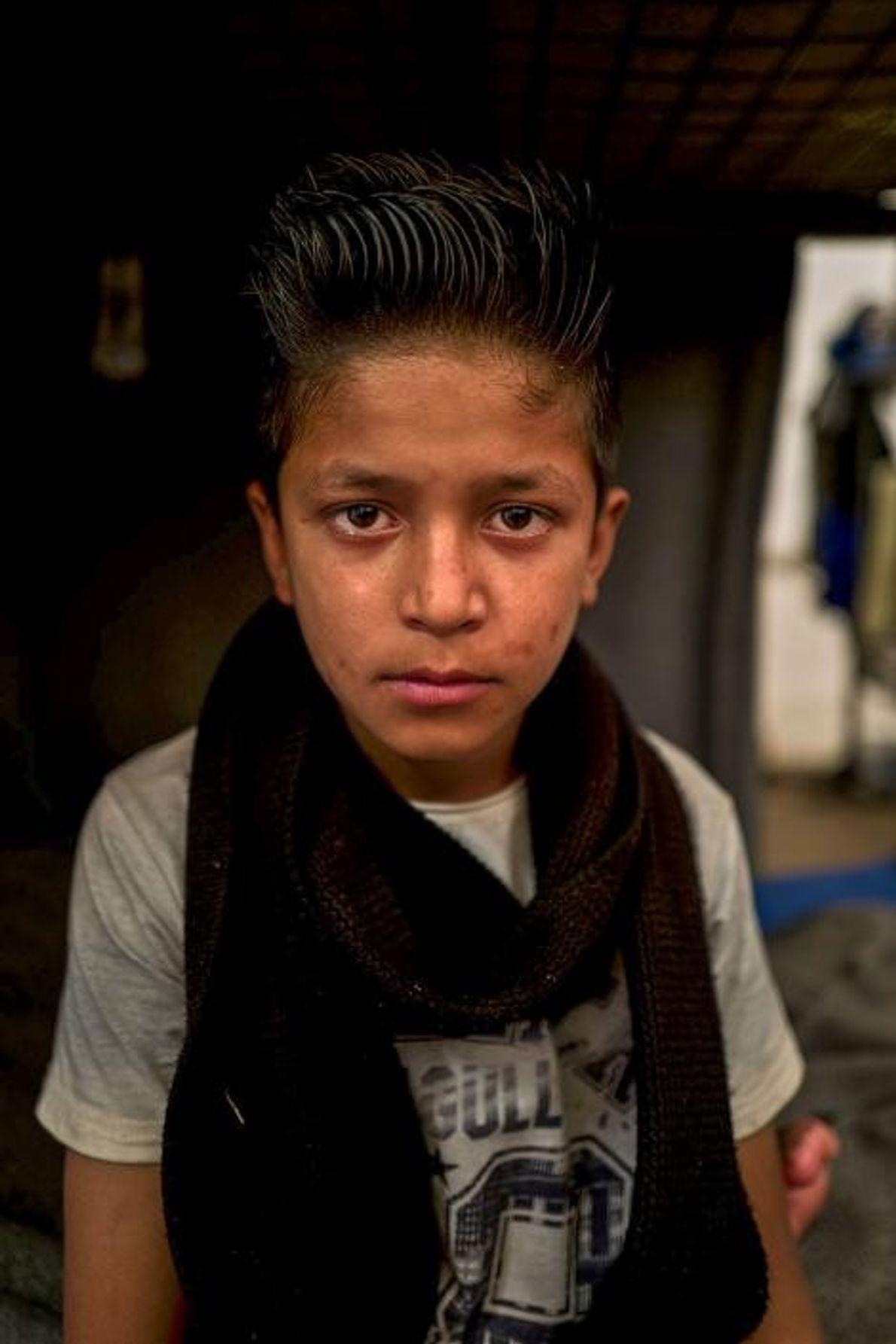 Delagha Qandagha, du haut de ses huit ans, est très mature pour son âge. Il n'a ...