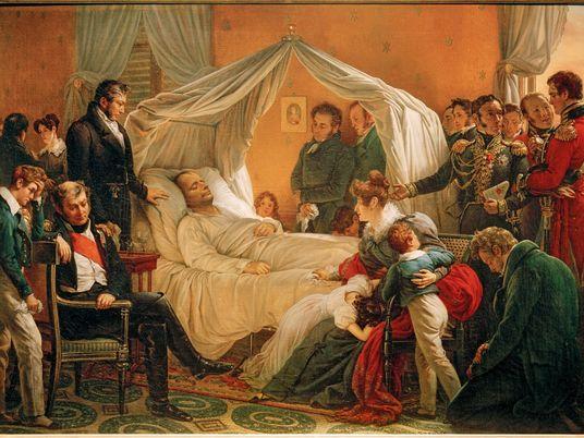 La mort de Napoléon, la fin d'une époque tumultueuse