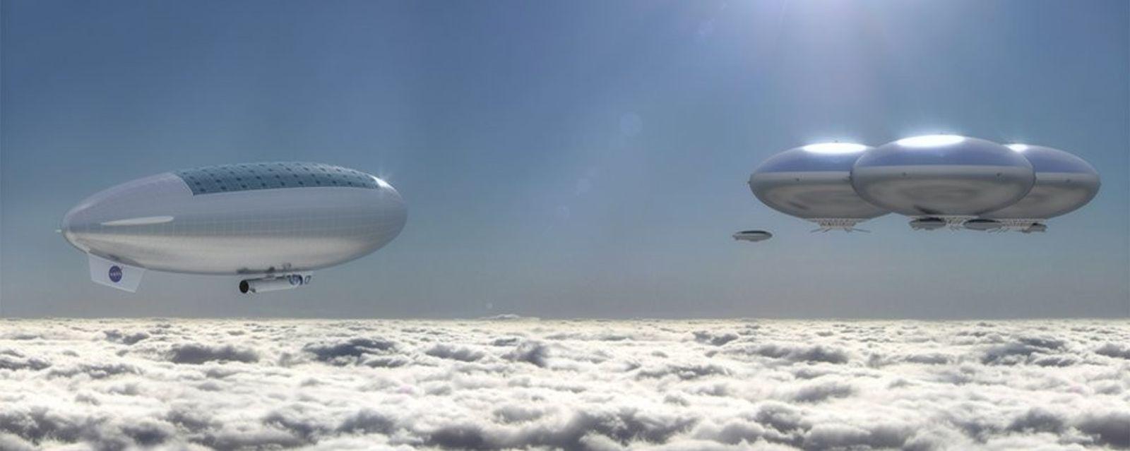 La NASA envisage d'explorer Vénus à bord de dirigeables