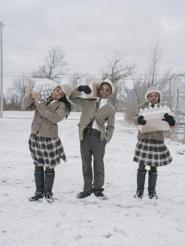 Flint contaminated water