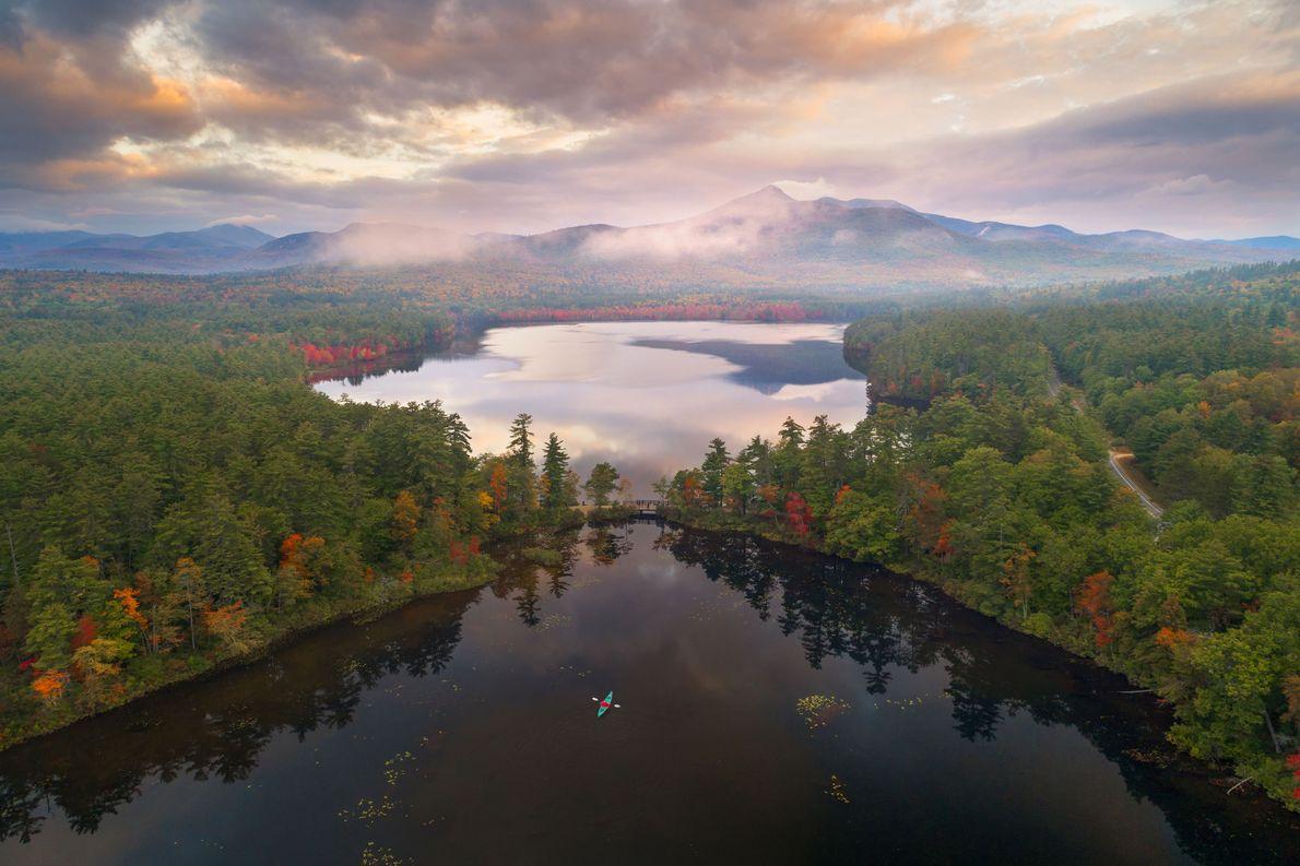 Le lac Chocorua , New Hampshire