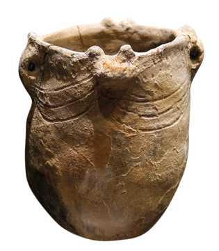 Un vase néolithique comme ceux utilisés à Gibraltar à l'époque où Calpeia a vécu.