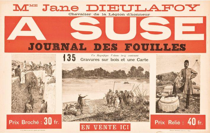 Journal des fouilles de Susa. Hachette, 1888