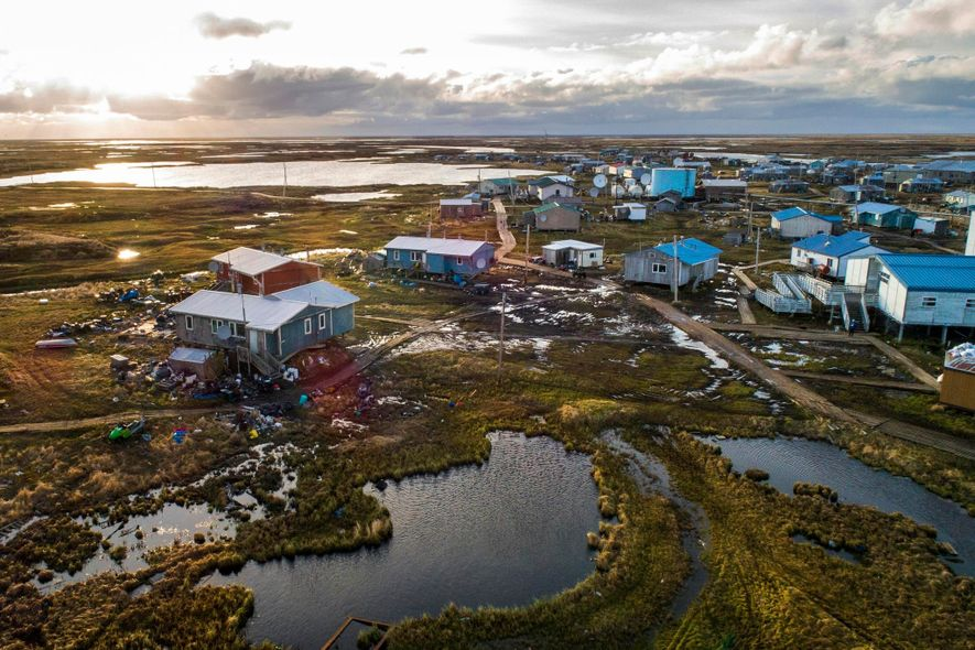 Un petit village d'Alaska contraint de déménager à cause de la fonte du pergélisol