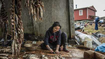 Alaska, la vie d'un village acculé par le réchauffement climatique
