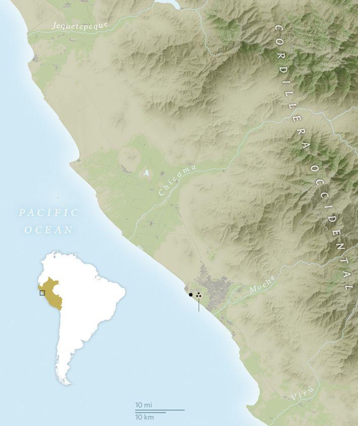 Les colonies humaines le long de la côte nord du Pérou étaient particulièrement sensibles aux perturbations ...