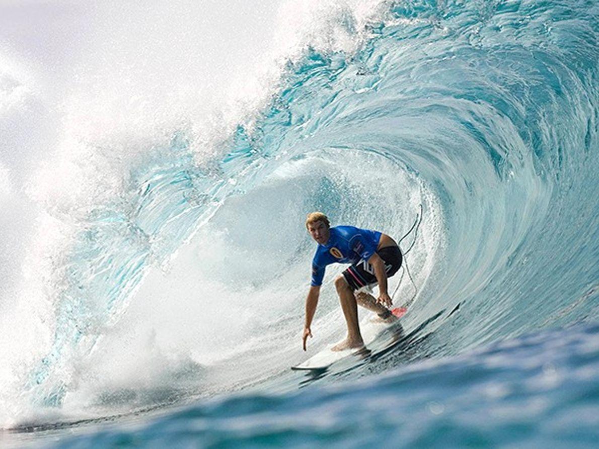 Les gigantesques vague d'Oahu