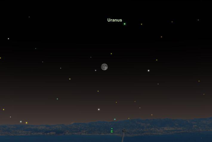 Le 24 octobre, Uranus sera plus lumineuse et imposante que jamais en 2018.