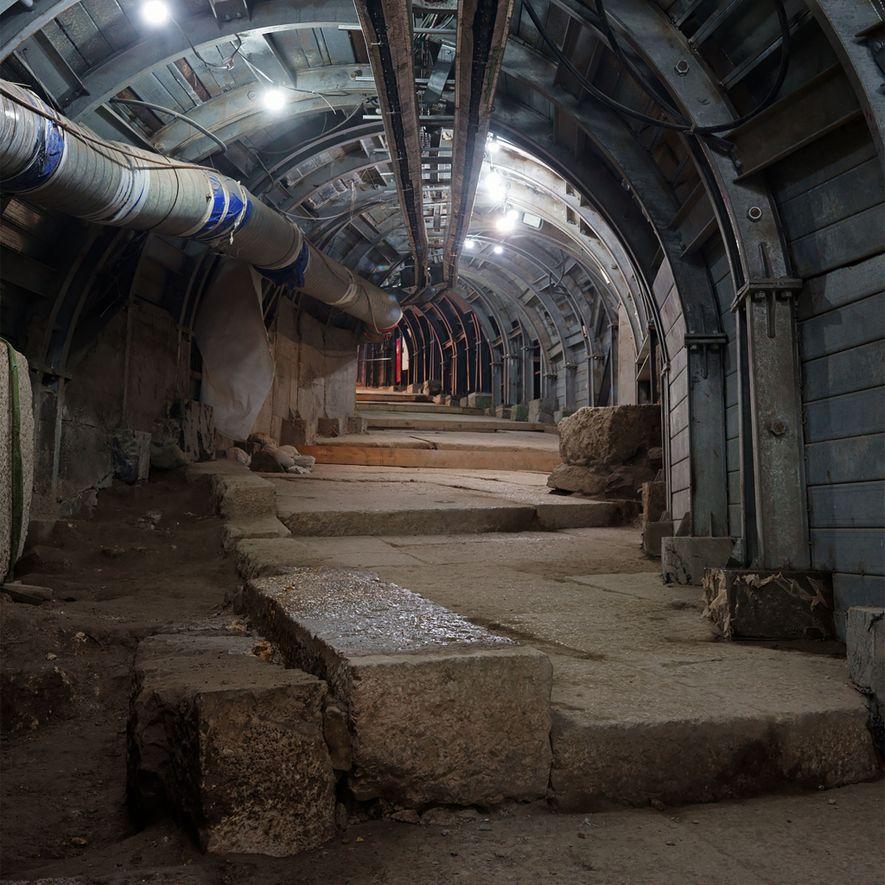 Jérusalem : découverte controversée d'une rue construite par Ponce Pilate