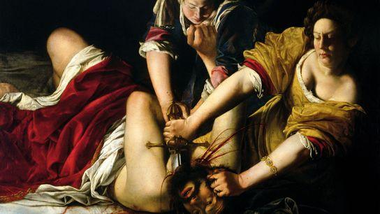 « Judith décapitant Holopherne », Artemisia Gentileschi, achevé en 1620. Ce tableau s'inspire d'un passage de ...