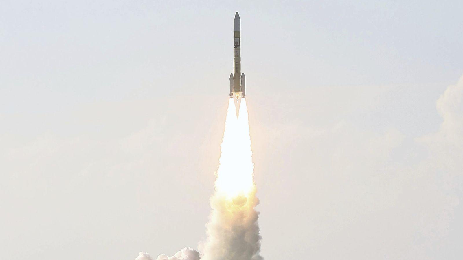La sonde Espoir, développée par le Centre spatial Mohammed Bin Rashid aux Émirats arabes unis, a ...