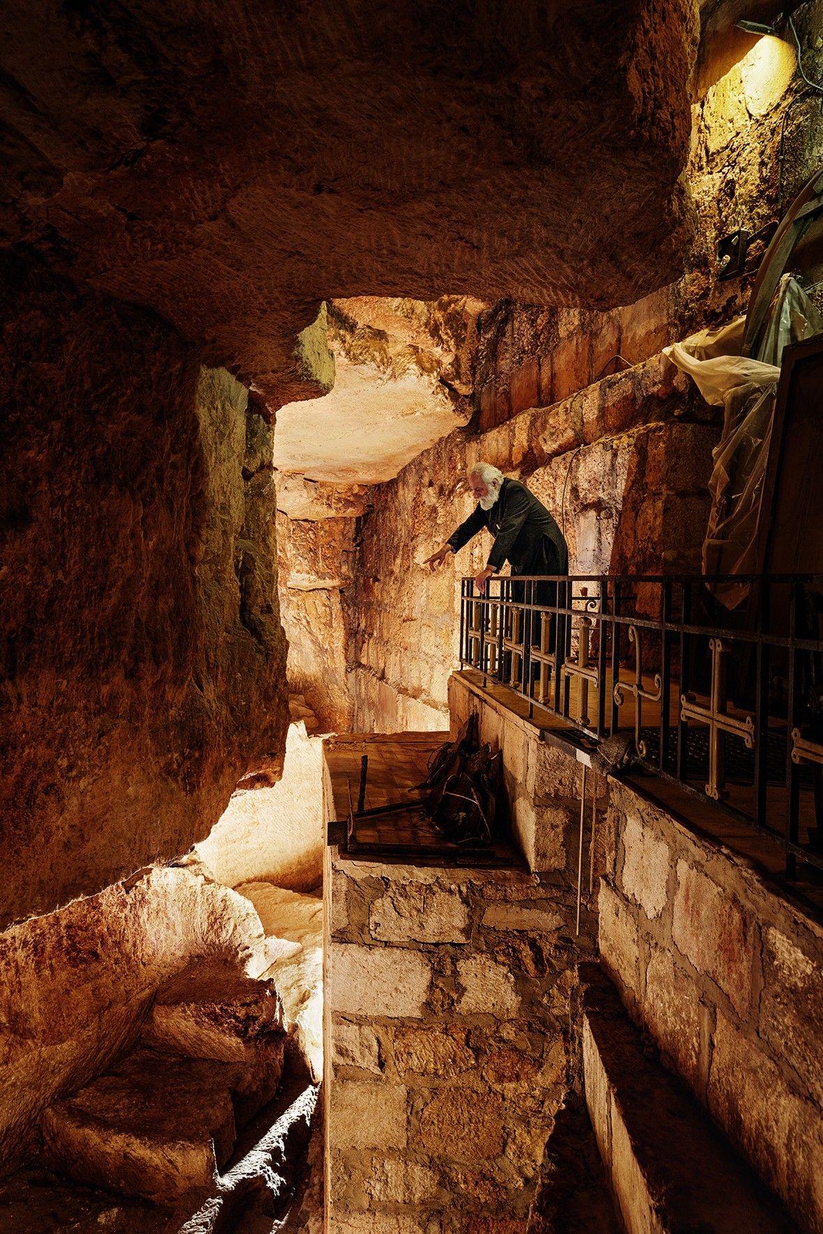 Un dédale de tunnels révèle le passé méconnu de Jérusalem