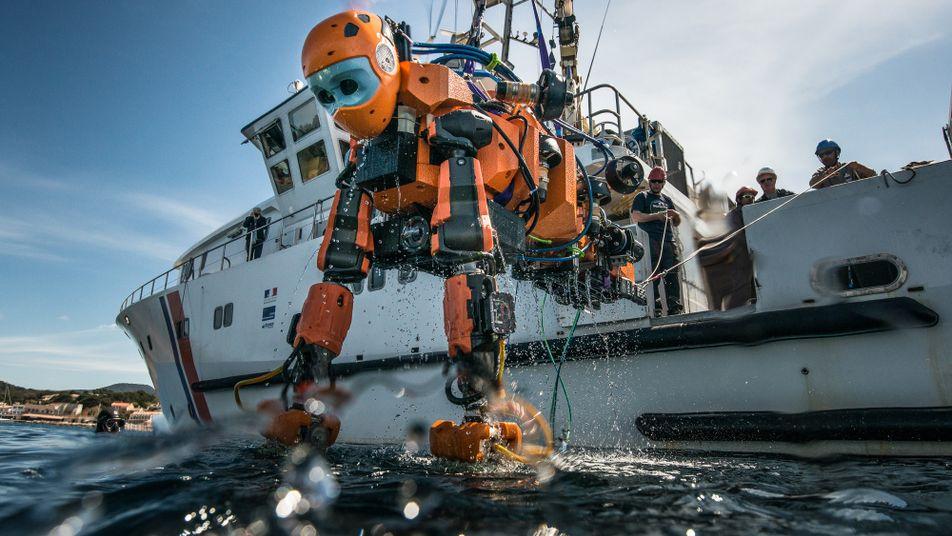 Un robot humanoïde révolutionne l'archéologie sous-marine