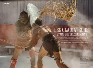 Les gladiateurs, stars des jeux romains