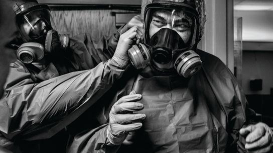 Mesures extrêmes. Bogalusa, Louisiane, États-Unis. À cause de la pandémie, nombre de systèmes de santé se sont ...