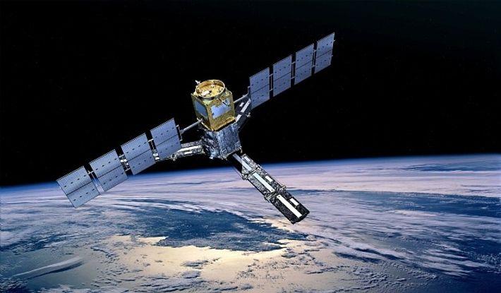 Illustration du satellite Smos. La mission Smos a pour objectif scientifique l'observation à l'échelle globale de l'humidité ...