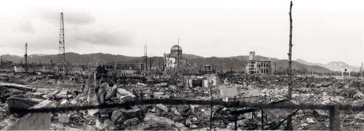 Hiroshima, après la bombe.