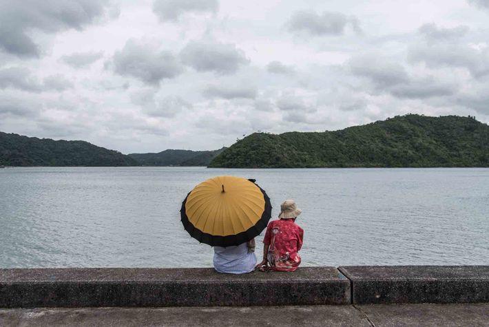 À Ogimi, la nature est abondante, offrant une vie sans stress au milieu de paysages somptueux.