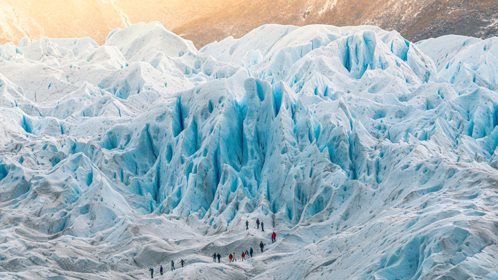 Parc national Los Glaciares, Argentine. Le glacier de Perito Moreno, en Patagonie argentine.