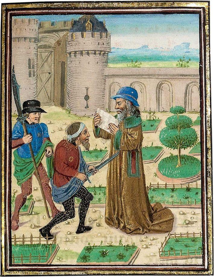 Parménion occupait une position importante : il contrôlait les lignes d'approvisionnement dont dépendaient les campagnes lointaines ...
