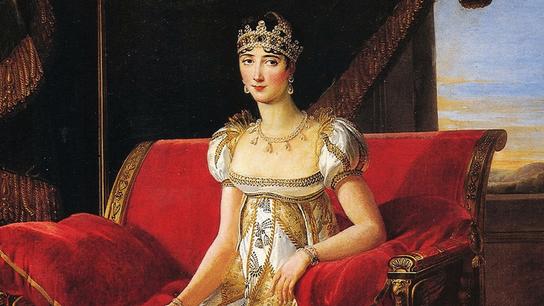 Pauline Bonaparte. Par Marie-Guillemine Benoist. 1808. Château de Fontainebleau