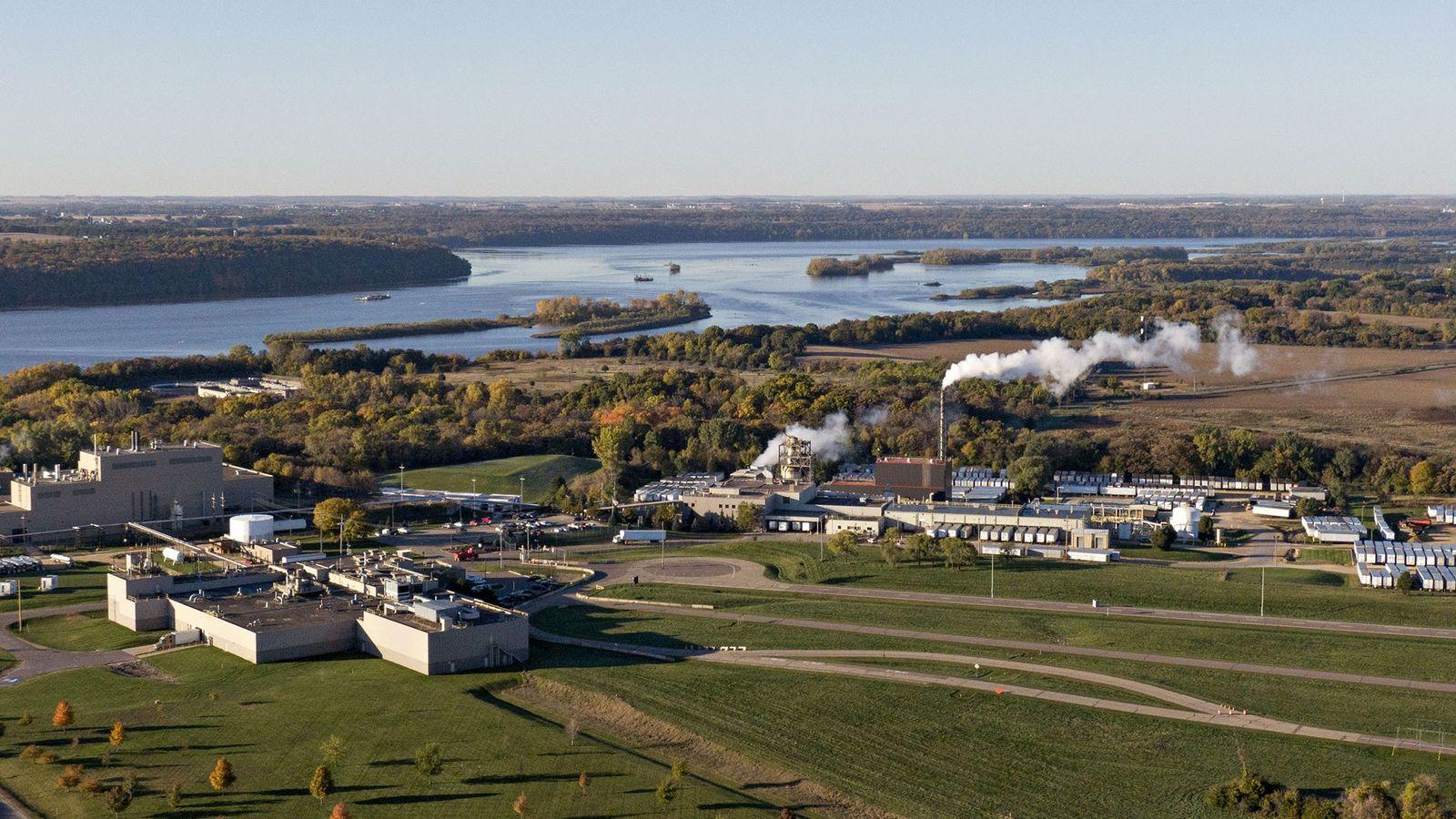 Cette usine de Cottage Grove, dans le Minnesota, utilise différents types de PFAS depuis les années ...