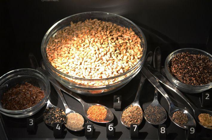 Photo of plant ingredients